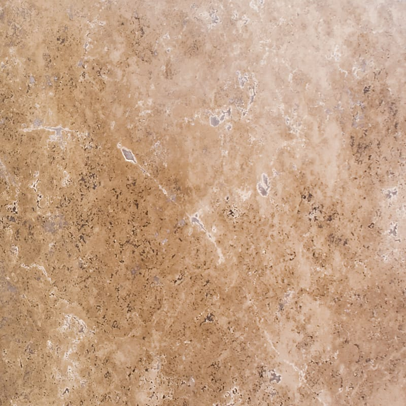 Walnut Dark Honed&filled Random 1 1/4 Travertine Slab