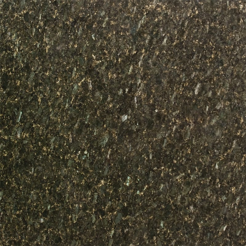 Peacock Green Polished Random 1 1/4 Granite Slab