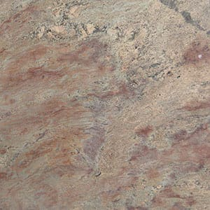 Juparana Crema Bordeaux Polished Granite Slab Random 1 1/4