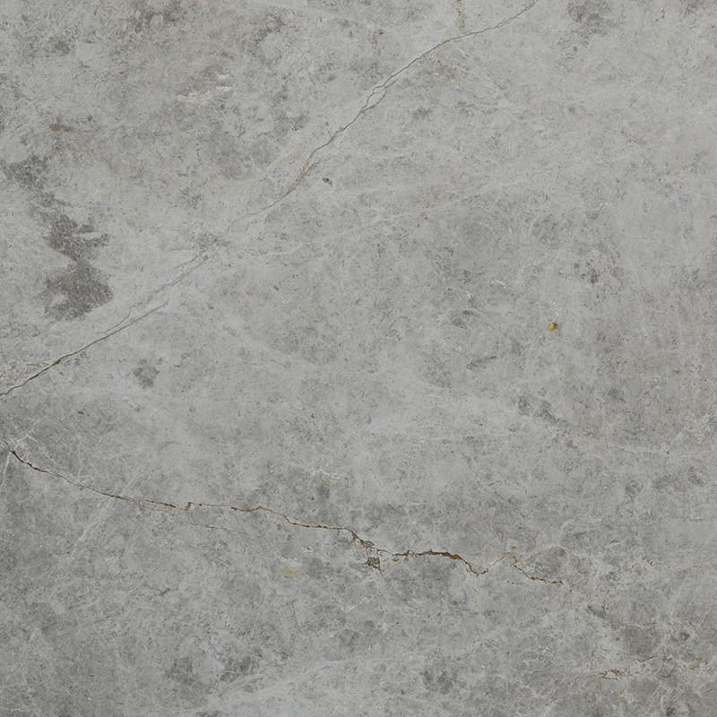 Silver Shadow Polished Marble Slab Random 1 1/4