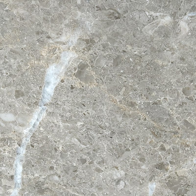 Silver Drop Polished Marble Slab Random 1 1/4