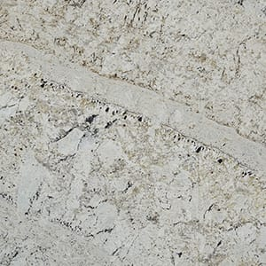 White Galaxy Polished Granite Slab Random 1 1/4