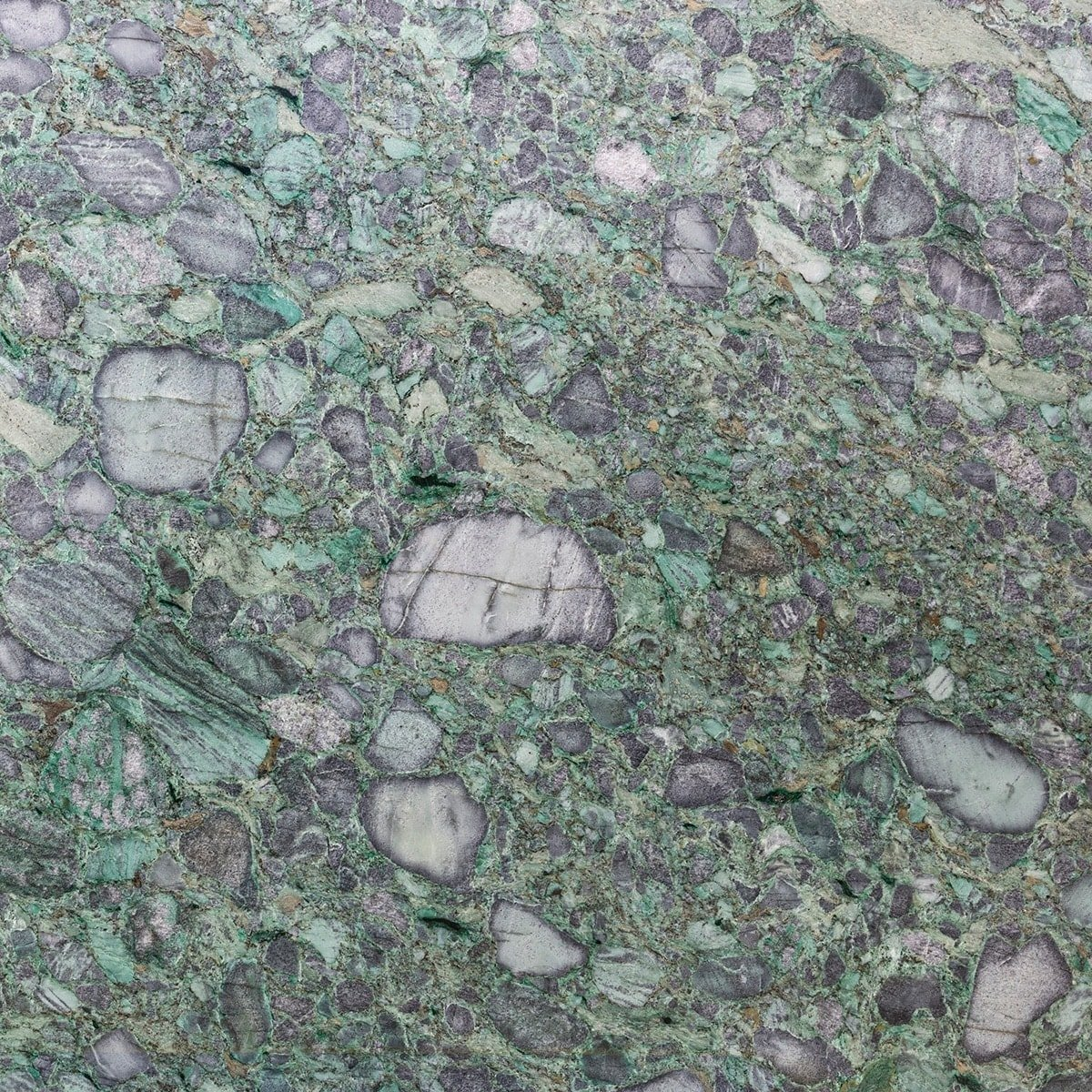 Emerald Green Polished Granite Slab Random 1 1/4