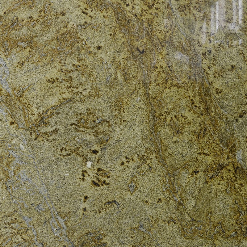Golden Crystal Polished Granite Slab Random 1 1/4