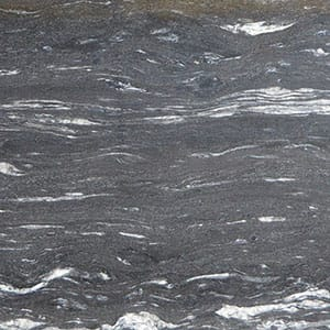 Cosmic Black Polished Granite Slab Random 1 1/4