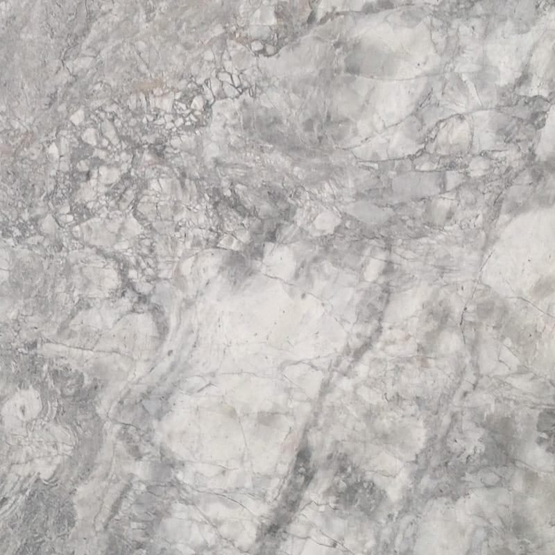 White Fantasy Polished Quartzite Slab Random 1 1/4