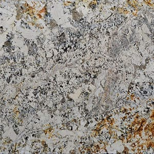 Paradise Gold Polished Granite Slab Random 1 1/4