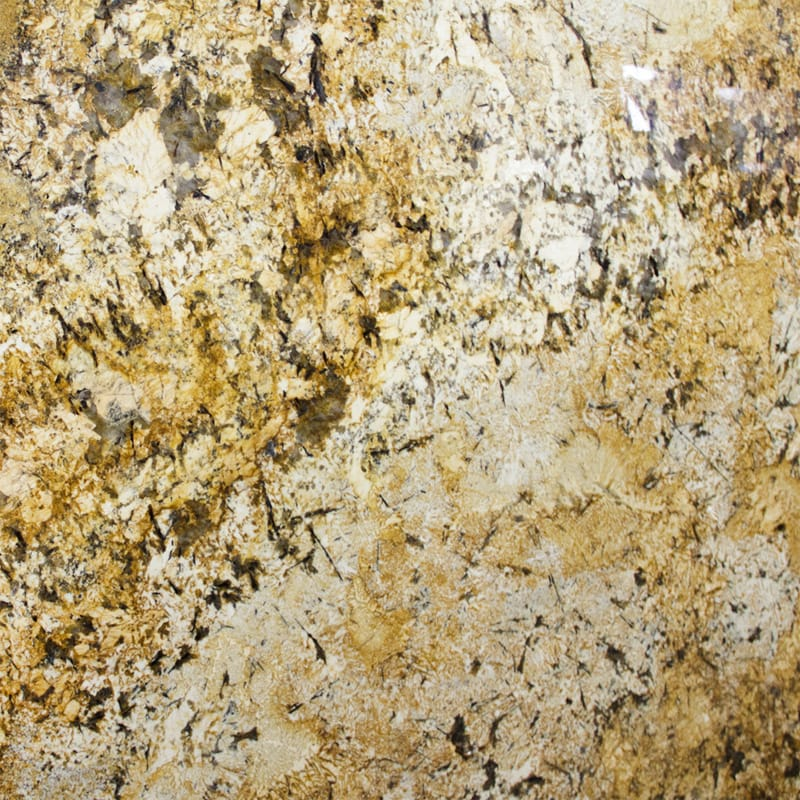 Golden Persa Polished Granite Slab Random 1 1/4