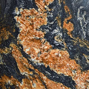 Golden Marrakesh Polished Granite Slab Random 1 1/4