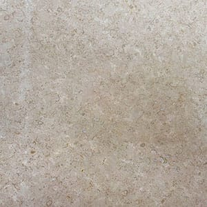 Miley Brown Polished Limestone Slab Random 1 1/4