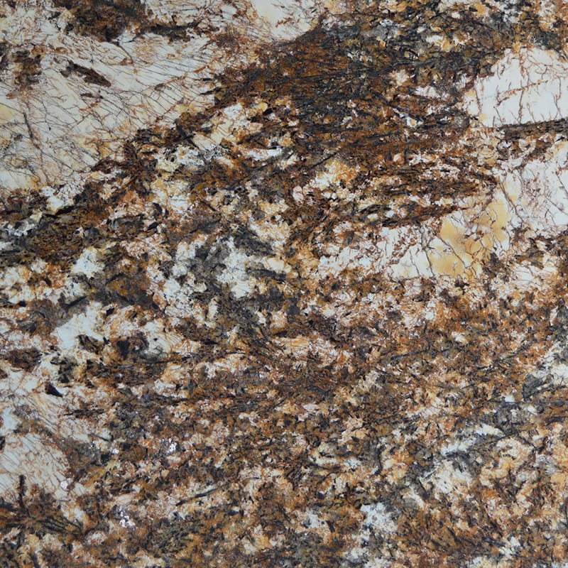 Original Treasure Polished Granite Slab Random 1 1/4