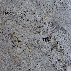 White Zeus Polished Granite Slab Random 1 1/4