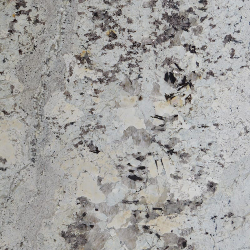 Vintage Polished Granite Slab Random 1 1/4