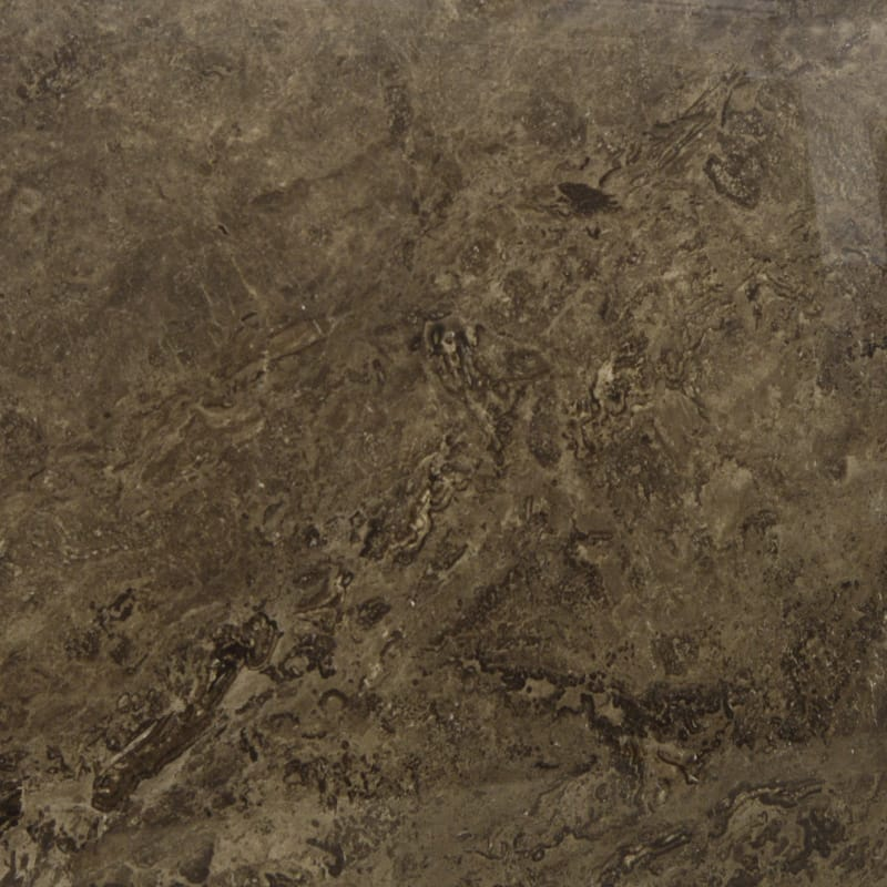 Black Travertine Polished Random 1 1/4 Travertine Slab