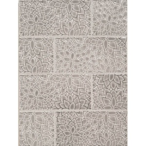 Rainstorm Crackled Akira Ceramic Wall Decos 4x8