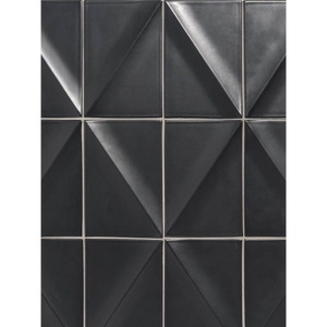 Itch Black Glossy Diamete Ceramic Wall Decos 4x6