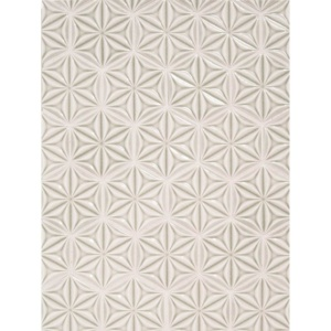 Glacier Crackled Isla Ceramic Wall Decos 3 Inch Hexagon