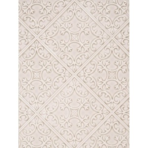Edge Comb Crackled La Vie Ceramic Wall Decos 6x6