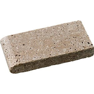 Walnut Dark Tumbled Pool Coping Travertine Pool Copings 4x8