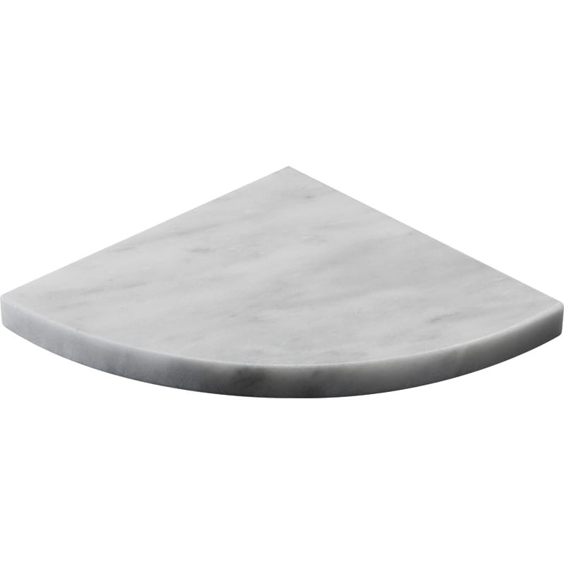 Avenza Honed Corner Shelf Marble Corner Shelves 8x8