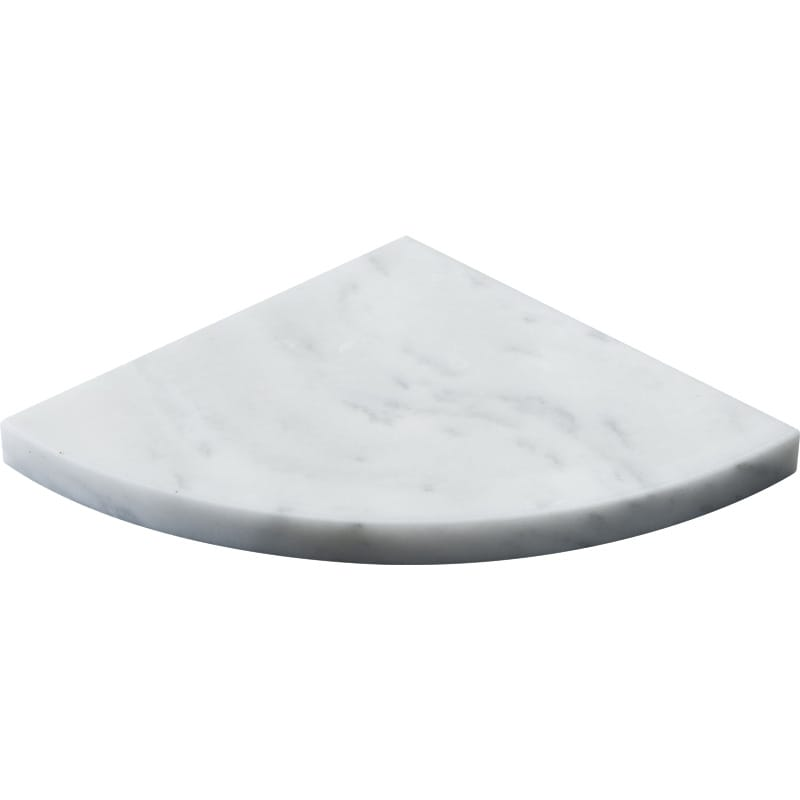 Avalon Polished Corner Shelf Marble Corner Shelves 8x8
