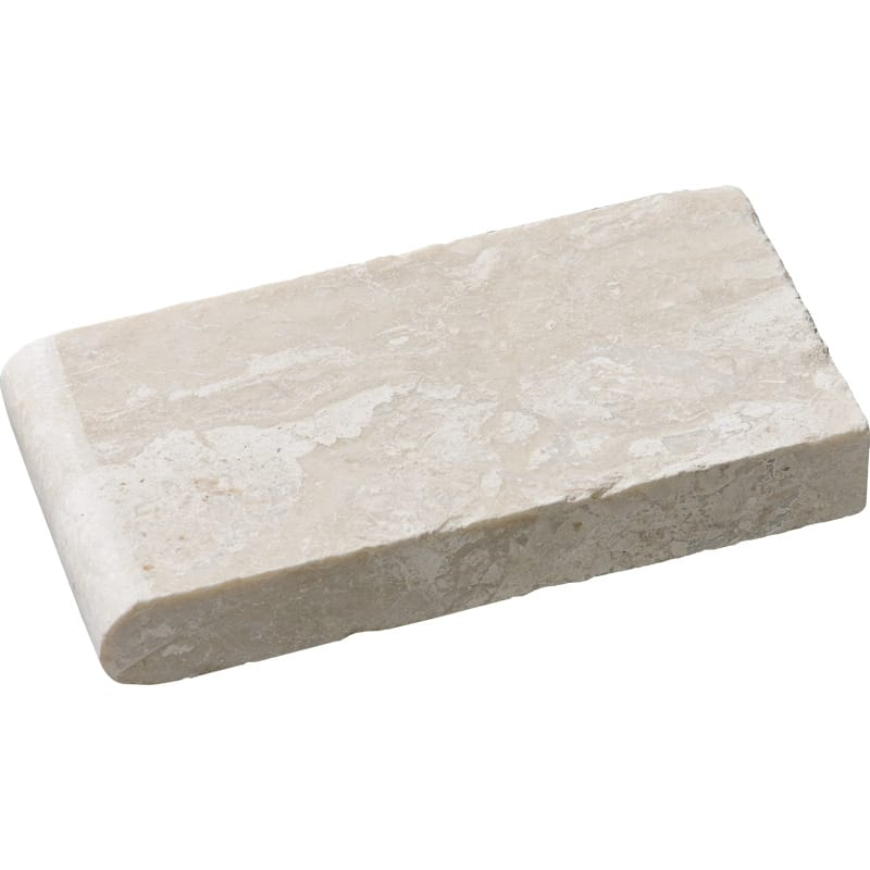 Diana Royal Tumbled 4x8 Pool Coping Marble Pool Copings