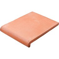Sunset Natural Terracotta Stair Copings 9 13/16x13 3/4