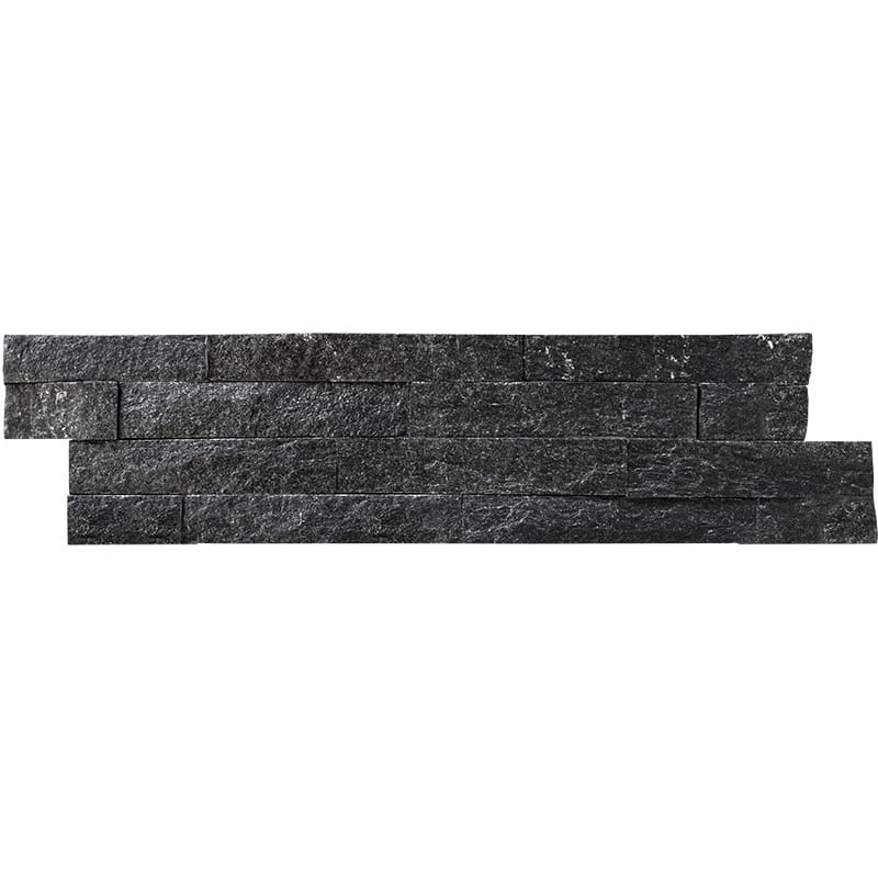 Backwoods Canopy Split Face 6x24 Ledger Panel Slate Ledger Panel