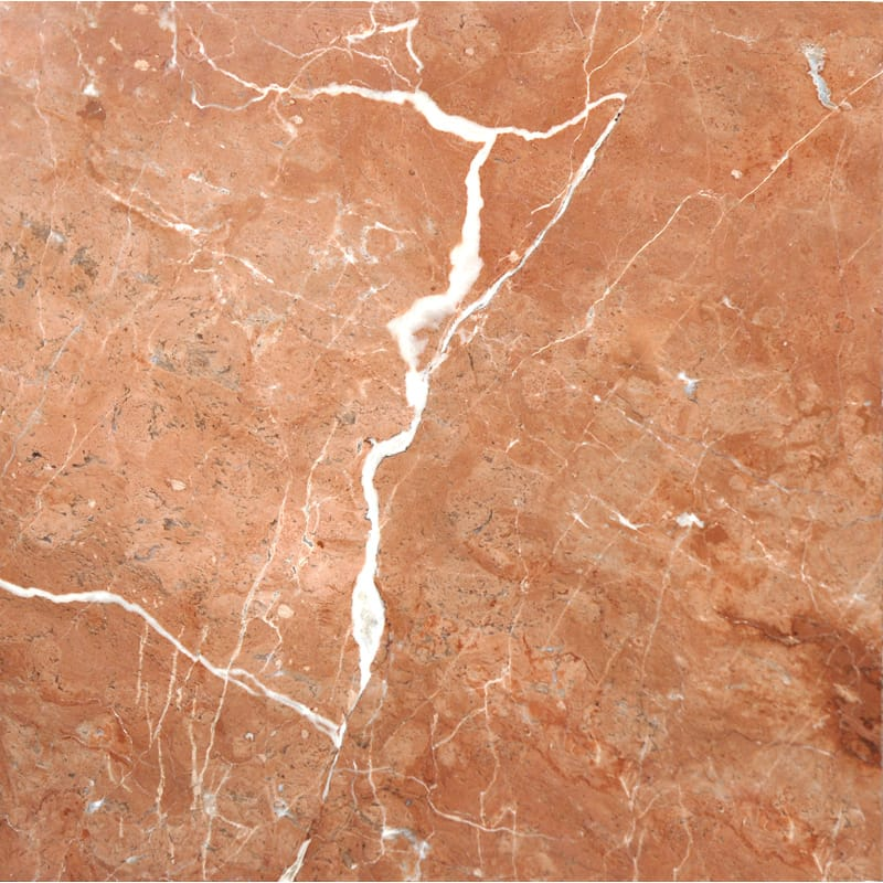 Rojo Alicante Polished Marble Tiles 12x12