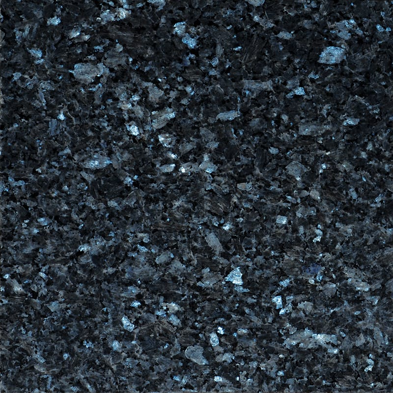 Blue Pearl Polished Granite Tiles 12x12