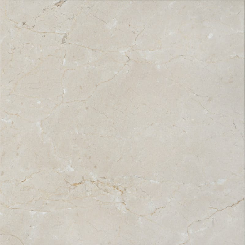Crema Marfil Polished Marble Tiles 24x24