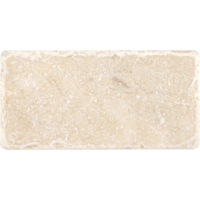 Sylvester Beige Tumbled Marble Tiles 3x6