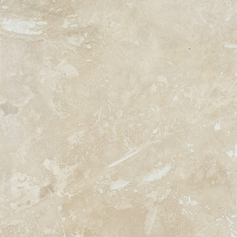 Ivory Light Std Honed&filled Travertine Tiles 18x18