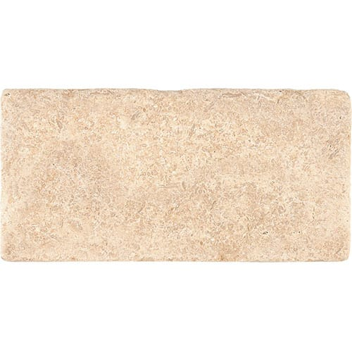 Seashell Tumbled Limestone Tiles 3×6