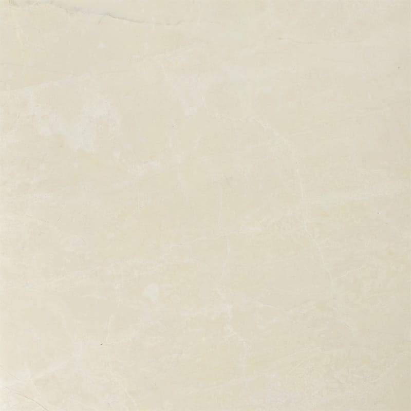 Desert Cream Classic Polished Marble Tiles 18x18