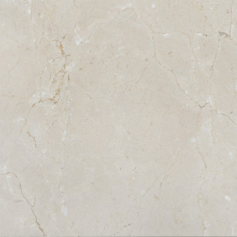 Crema Marfil Polished Marble Tiles 18x18