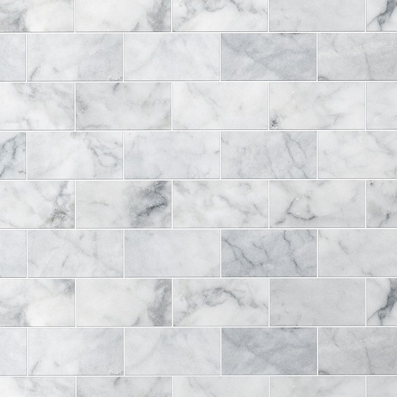 Avenza Honed Marble Tiles 2 3/4x5 1/2