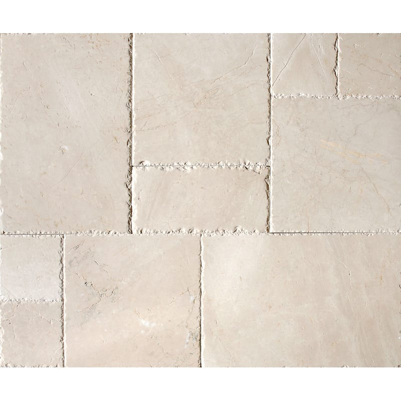Desert Cream Brushed Chiselled Versailles Pattern Marble Patterns Versailles Pattern