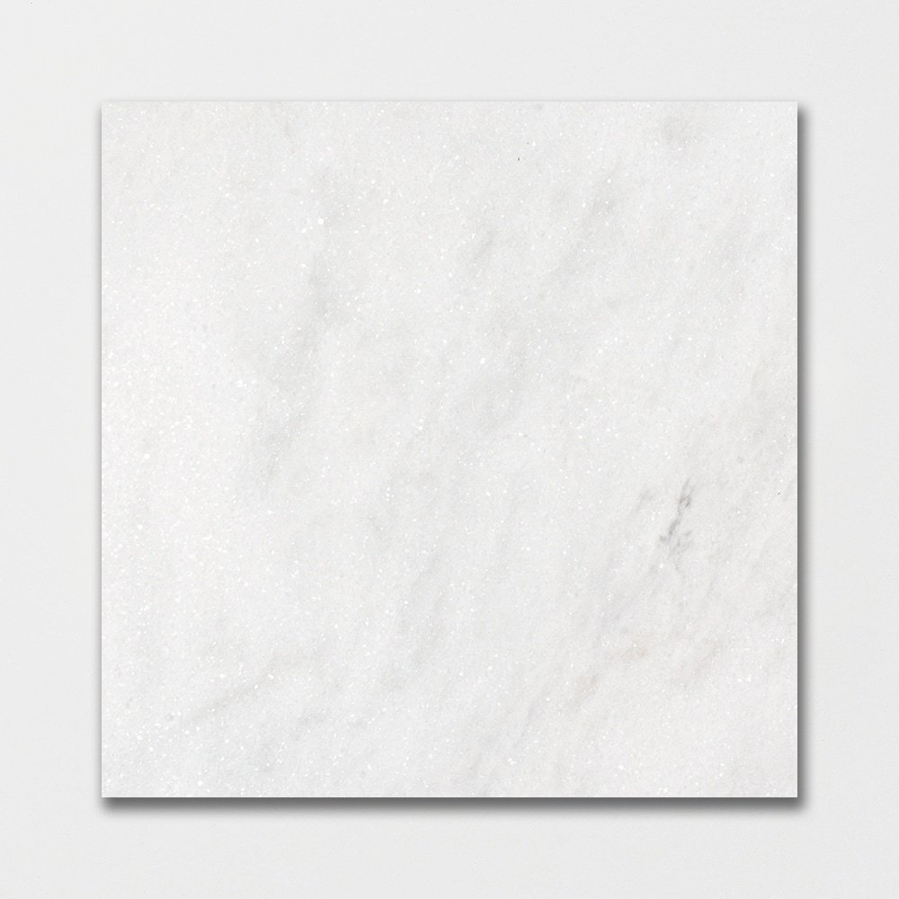 Glacier Honed Marble Tiles 18x18
