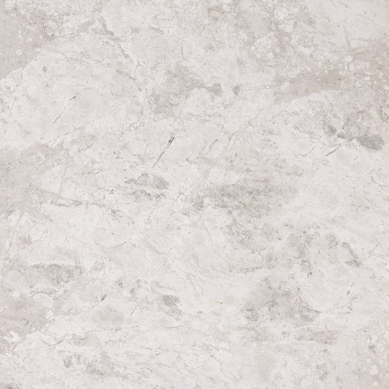 Silver Clouds Polished Marble Tiles 12x12