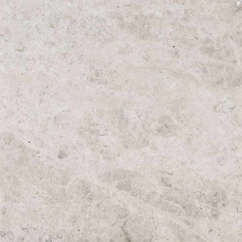 Silver Clouds Polished Marble Tiles 18x18 Country Floors