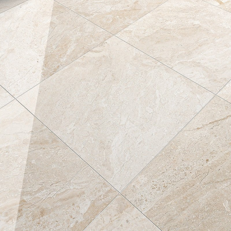 Diana Royal Polished Marble Tiles 24x24 - Country Floors