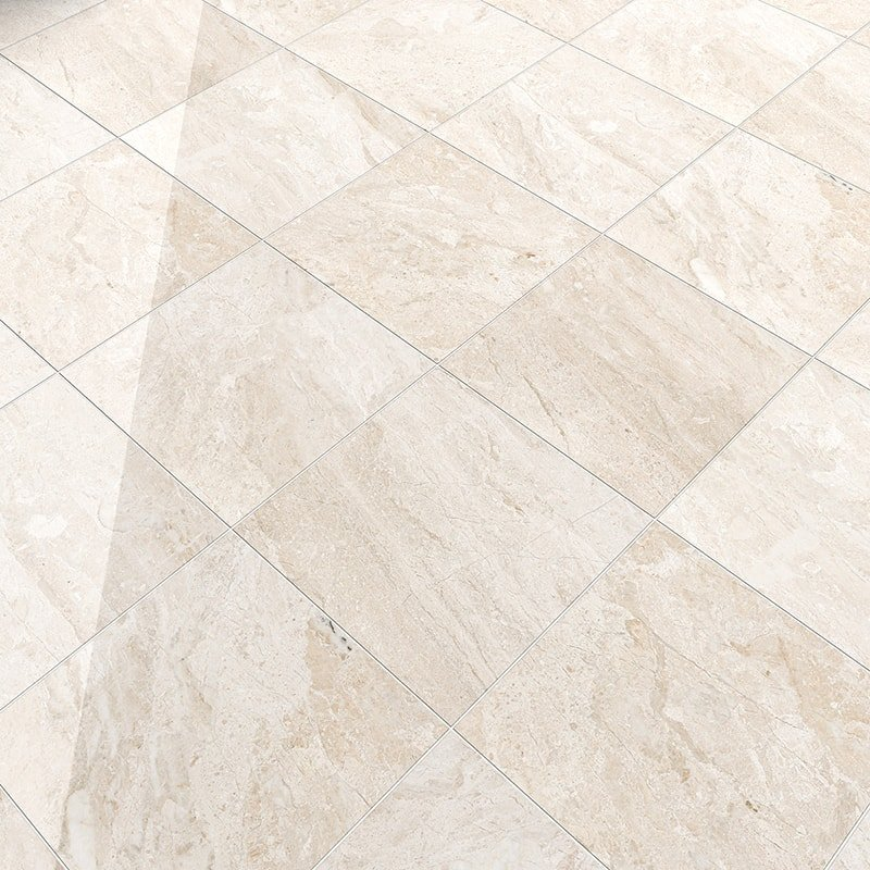 Diana Royal Polished Marble Tiles 12x12 Country Floors