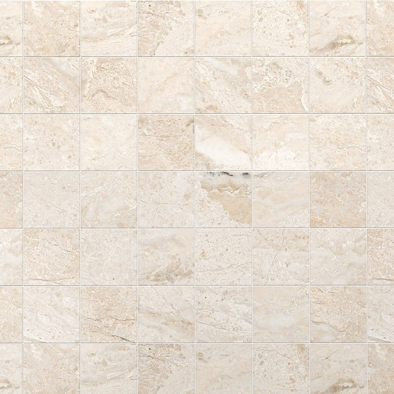 Diana Royal Honed Marble Tiles 5 1/2x5 1/2