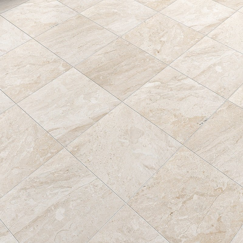 Diana Royal Honed Marble Tiles 12x12 Country Floors Of