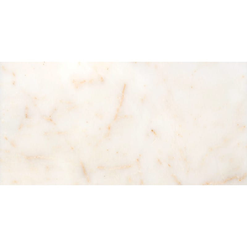 Afyon Sugar Polished Marble Tiles 2 3/4x5 1/2