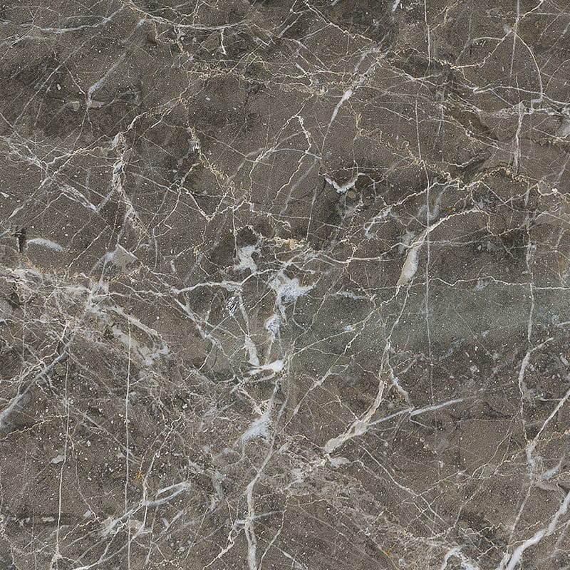 Arctic Gray Polished Marble Tiles 18x18