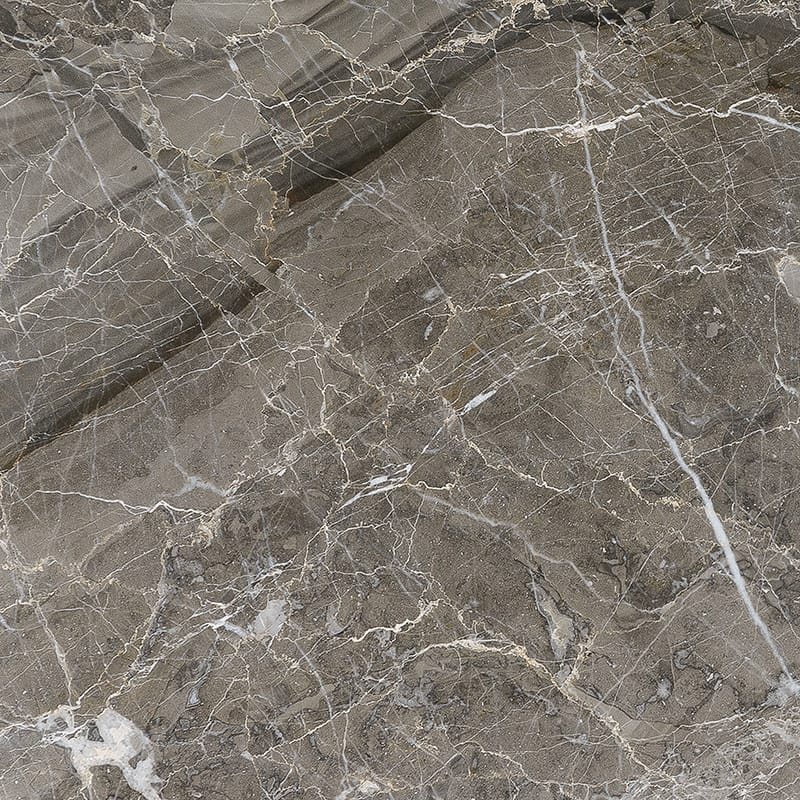 Arctic Gray Polished Marble Tiles 12x12