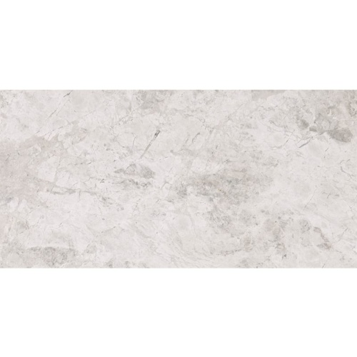 Silver Clouds Polished Marble Tiles 6×12