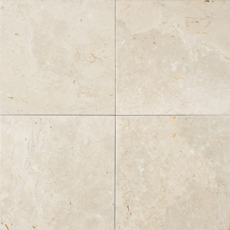 Sylvester Beige Antiqued Marble Tiles